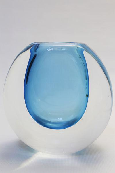 Crystal glass contemporary unique art sculpture